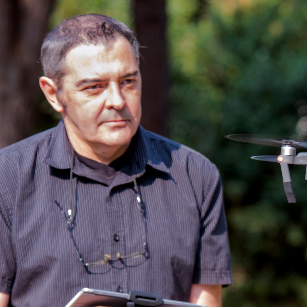 Pascal Mallia.Instructeur pilote.Responsable de formation, techniques et art du Cinéma.